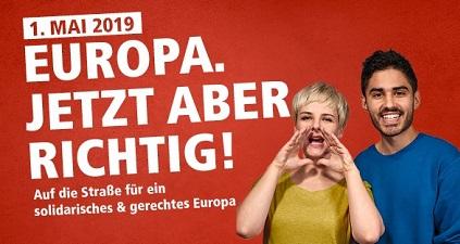 DGB Europa 1. Mai 2019