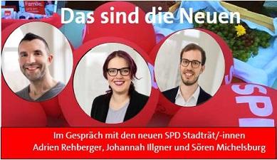 Das sind die Neuen Stadtrat SPD Heidelberg
