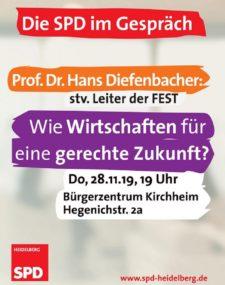 Prof. Diefenbacher FEST gerechte Wirtschaftsordnung