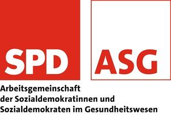 Logo AG der Sozialdemokraten im Gesundheitswesen