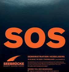 Demo SOS Seebrück Heidelberg