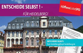 Offene Liste SPD Heidelberg Kommunalwahl