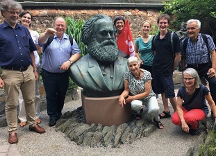 Fahrt nach Trier Karl Marx