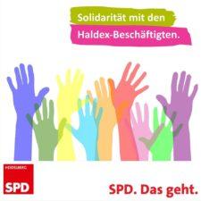 Solidarität mit den Haldex-Beschäftigten