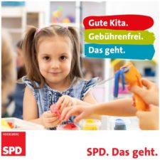 Gute Kita. Gebührenfrei. Das geht. SPD Heidelberg
