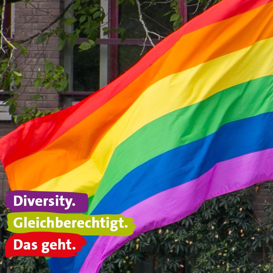 Diversity. Gleichberechtigt. Das geht.