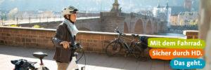 Mit dem Fahrrad sicher durch Heidelberg
