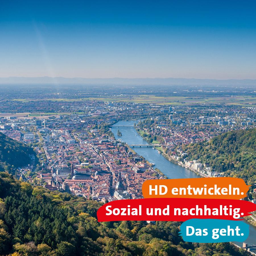Heidelberg entwickeln. Sozial und nachhaltig. Das geht.