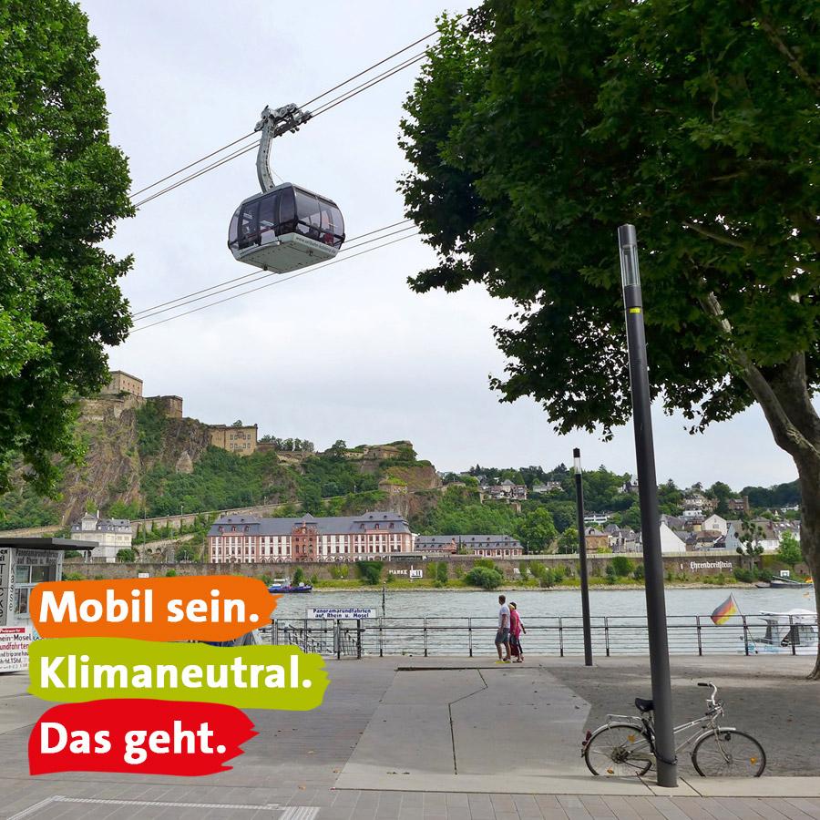 Mobil sein. Klimaneutral. Das geht.