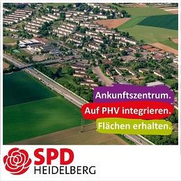 Ankunftszentrum Heidelberg PHV
