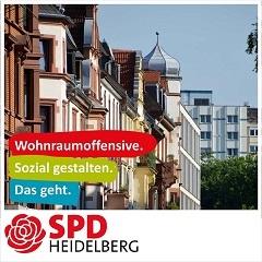 Wohnraum bezahlbar in Heidelberg