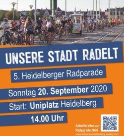 Radparade Stadtradeln Heidelberg 2020